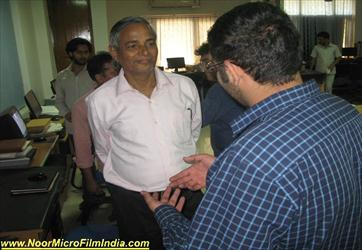 Prof .Prafulla Kumar Mishra Visiting at center